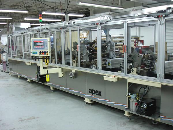 Apex S-40 Printing line for Caps and Closures
